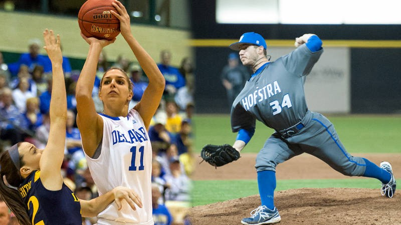Burg, Delle Donne Named Scholar-Athletes of the Year