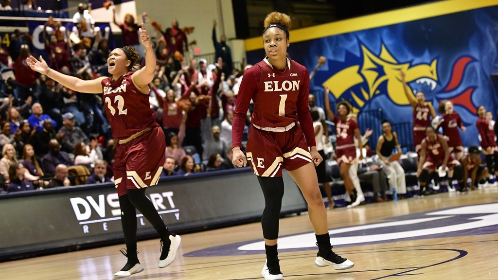 release date: f74f2 fcee1 Defending Champ Elon Ousts JMU in Semifinals - Colonial ...