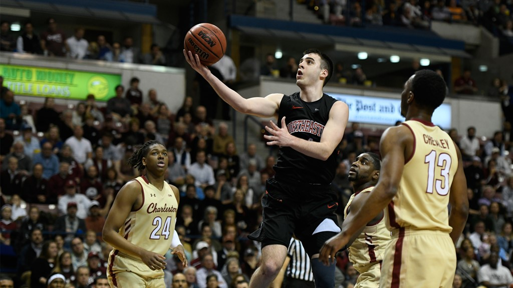 Northeastern Favored To Win CAA Men's Basketball Championship